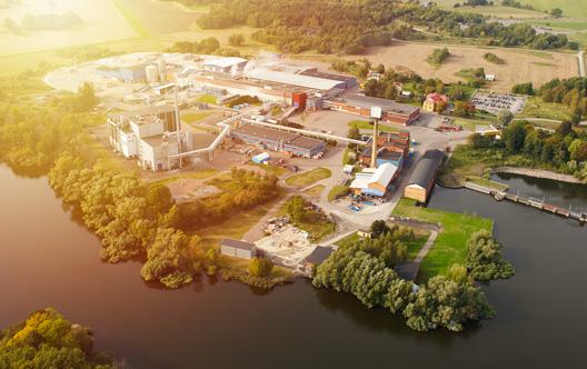 Översiktsbild Fiskeby fabriksområde